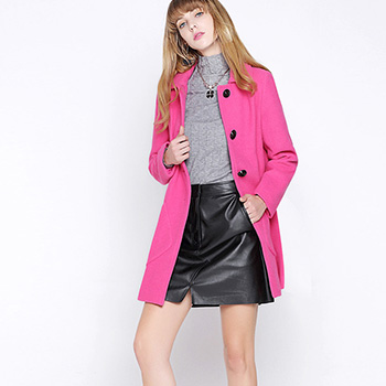 Sugar 2017 new spring Couture Pink collar sleeveless dress waist slim lady dress powder  pink S